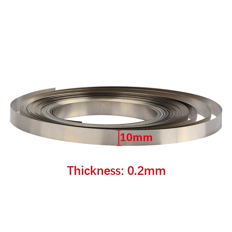 10/15 мм x0.15/0,2 10 м Чистый Никель полоса лента для Li 18650 батареи точечной сварки совместима для точечной сварки машины