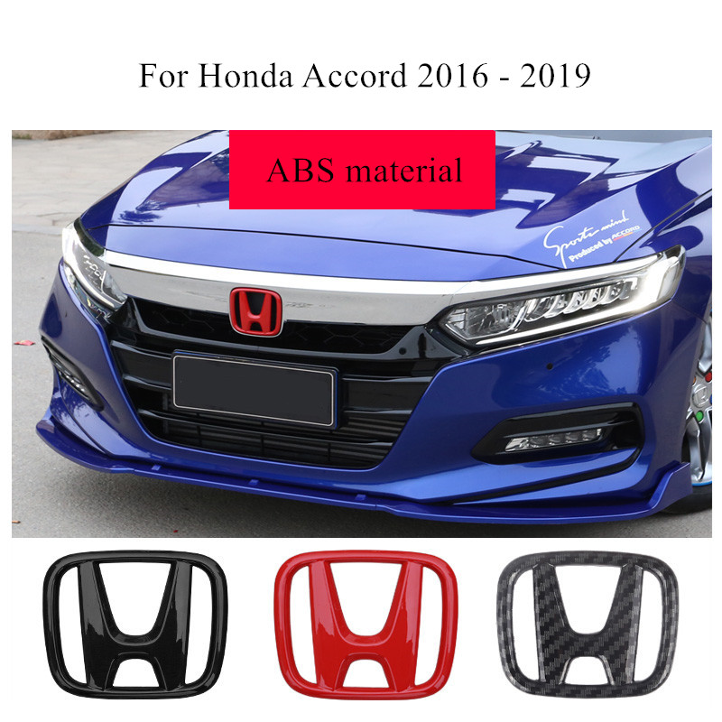 Car Front Grille ABS Decoration Emblem Trunk 3D Badge Decals Stickers For Honda Accord 2018 For Honda INSPIRE Accessories