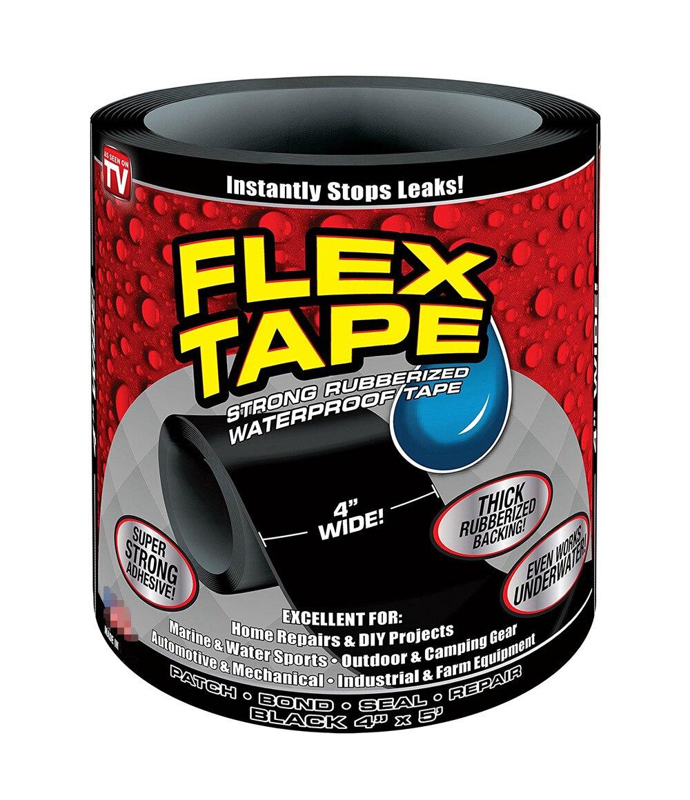 150x10cm 1.5M super strong waterproof fiber tape stop leak repair tape performance self-repair tape Fiberfix tape
