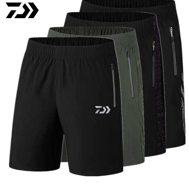 Daiwa New Men's Summer Quick Dry Hiking Shorts Outdoor Waterproof Tactical Trekking Fishing Men Sports Short Trousers