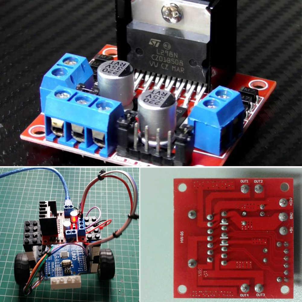 L298N double H pont moteur pas à pas carte pilote moteur pas à pas cc Module de carte contrôleur d'entraînement pour Arduino