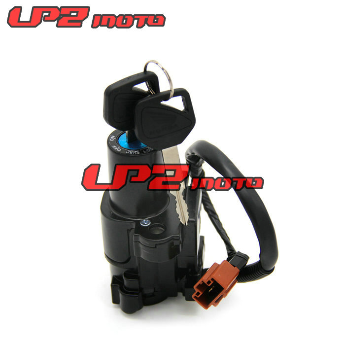 Motorcycle Motorbike Ignition Switch Key with Wire Electric Door Lock For Honda CBR500 2015 2017 CB1000 2009 2014