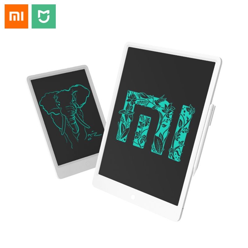 Original Xiaomi Mijia LCD Small Blackboard With Magnetic Stylus Pen 10 inch 13.5 inch Smooth Writing Pen Mini Draw Pad Home Work Smart Remote Control     - title=