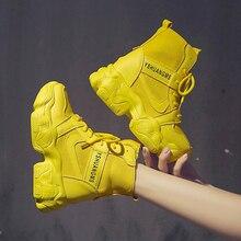 SWYIVY Demin מרטין מגפי נשים טריז נעלי אישה 2020 חדש אביב נשים קרסול מגפי פלטפורמת גבירותיי נעלי מוצק נשי נעליים