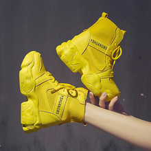 SWYIVY Demin Martin Boots Women Wedge Shoes Woman 2020 New Spring Women Ankle
