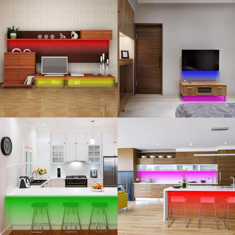 sofa couch bed lights rgb usb led under