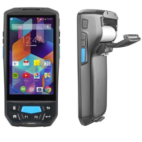 pda leitor de qr code codigo de barras 1d 2d 4g wifi bluetooth gps camera