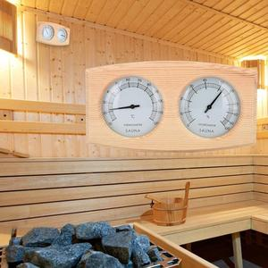 2 in 1 Sauna Room Wooden Therm