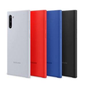 Image 2 - Original Samsung Offizielle Silikon Fall Schutz Abdeckung Für Galaxy Note10 Plus Hinweis 10 X Mode Fällen Handy Gehäuse