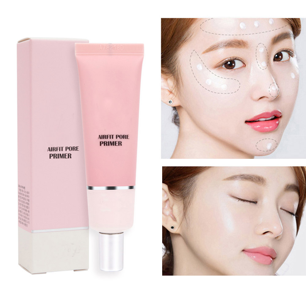 Makeup Primer Base Cream Natural Moisturizing Waterproof Durable Hydrating Brightening Smooth Skin Oil Control Invisible Pores