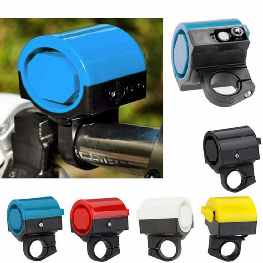 Durable Electronic Bike Bells Suitable for Folding Bike MTB Bicycle Horn Loud Sound Bike Accessories Bell Ring