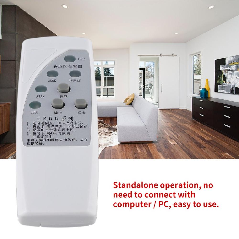 CR66 Handheld RFID ID Card Duplicator Programmer Reader Writer 3 Buttons Copier Duplicator With Light Indicator