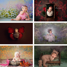 10x15 FT Photo Backdrops,Watercolor Flower Arrangement Surreal Expressionism Influenced Pattern Nature Background for Kid Baby Boy Girl Artistic Portrait Photo Shoot Studio Props Video Drape Vinyl