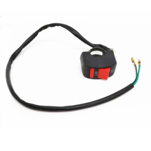 цена на Universal 12VDC Motorcycle Handlebar Fog Light Switch ON-OFF Button Switch For U5 U7 LED Head Lamp Angel Eyes Light