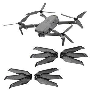 Image 2 - Hélice de fibra de carbono 8743F para Dron DJI Mavic 2 Pro Zoom, accesorios de cuchilla plegable, accesorios de repuesto, 4 Uds.