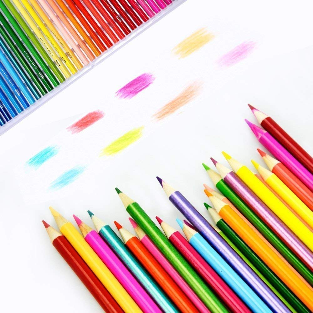 120 Colouring Pencils - 120 Unique Coloured Pencils and Pre Sharpened Crayons for Coloring Book,Ideal Gift for Artists 2
