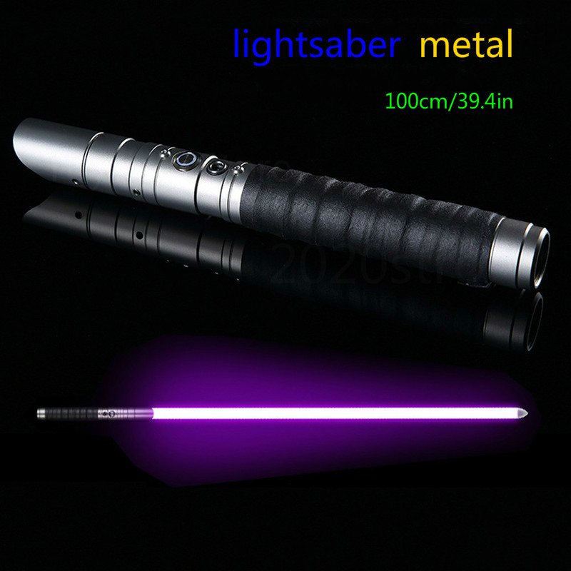 Lightsaber Jones 11 Color Metal Lightsaber RGB Laser Boys And Girls Star Wars Force Color Changing Sound Toy Lightsaber Sabre