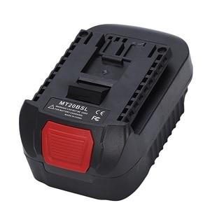 Image 3 - MT20BSL adaptateur convertisseur de batterie Li Ion pour Makita 18V BL1830 BL1860 BL1850 BL1840 BL1820 utilisé pour outil Bosch 18V