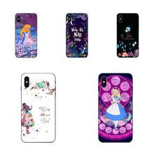 Untuk Huawei Mate 9 10 20 P8 P9 P10 P20 P30 Lite Bermain Mini Pro P Smart Plus Z 2017 2019 Coque Shell Alice In Wonderland Indah(China)