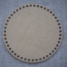 Набор из 3 предметов деревянная круглая корзина для вязания