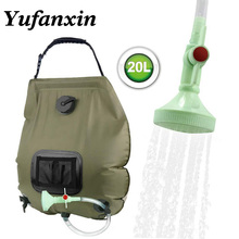 Heated Water Bags For Outdoor Solar Shower Bag 20L Heating C
