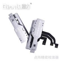 Qianli dot projetor precisão calibrador para x xs max xr 11 dureza liga de alumínio face treliça posicionamento preciso auxílio