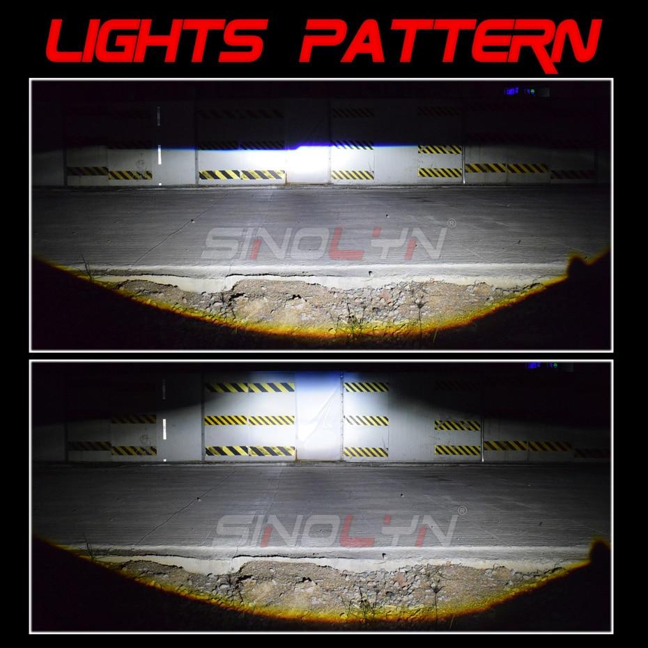 Osram carlight H7 led H11 H1 H4 LED bulb HB4 HB3 car led headlight 6000K HIR2 12V For Toyota Glory for Kia for Audi for BMW - 6