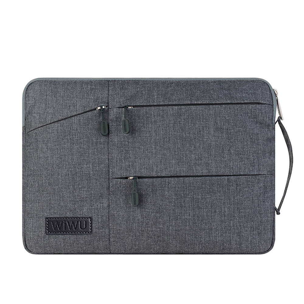 2019 Multi Pockets Bag for MacBook Pro 13 <font><b>15</b></font> <font><b>Case</b></font> for <font><b>Xiaomi</b></font> Air 13 Waterproof <font><b>Notebook</b></font> Cover For Lenovo 14 for MacBook Air 13 image