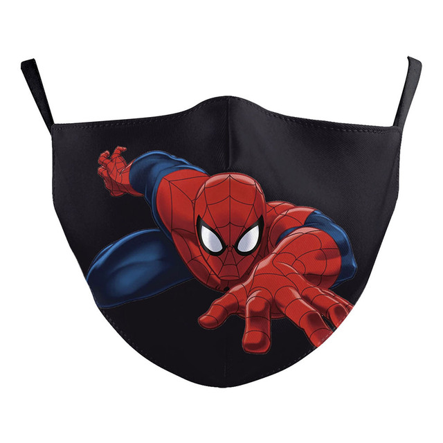 Superhero The Flash Thanos Iron Man Cosplay Face Mask Dustproof Adult Kids Masks 2