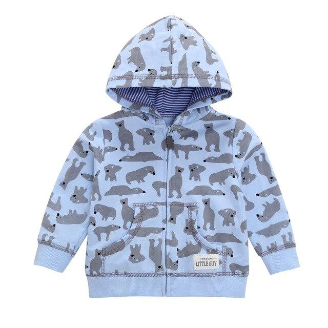27kid Toddlers Hoodies Boys Girls Spring  Jacket Little Baby Infant Dinosuar Cartoon Hooded Kids Cute Boys Outwear Sweatshirt