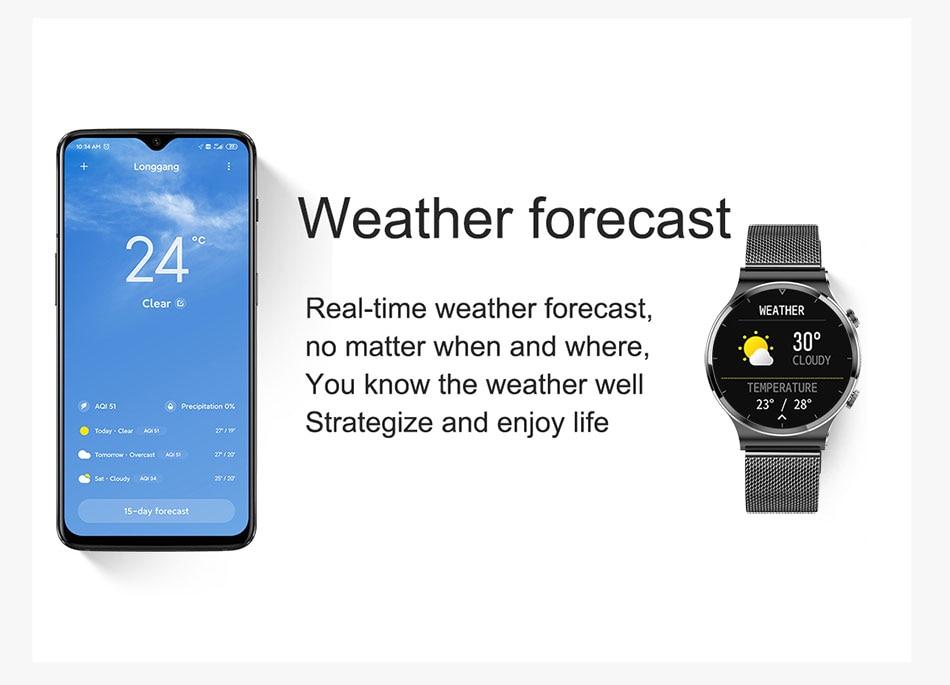 Hdf89a532c1e44efe8c2f40b481f2a4f66 LIGE 2021 New Smart watch Men IP68 waterproof watch Multiple sports modes heart rate weather Forecast Bluetooth Men Smart watch