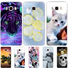 Phone Case For Samsung Galaxy J5 2016 J510 SM-J510F Cover Silicone TPU Fundas For Case Samsung J5 2016 Cases Dog Cat Coque Bags чехол силиконовый для samsung galaxy j5 2016 sm j510f ds прозрачный
