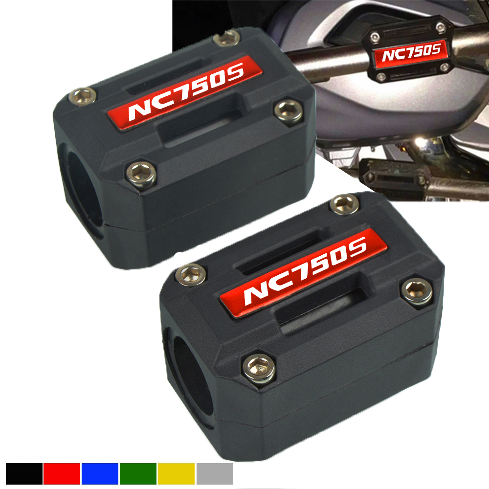 For <font><b>HONDA</b></font> NC750S NC750X <font><b>NC700X</b></font> NC 750 S X Motorcycle Engine Guard Bumper Protection Decorative Block <font><b>Crash</b></font> <font><b>Bar</b></font> Decor 22-28mm image
