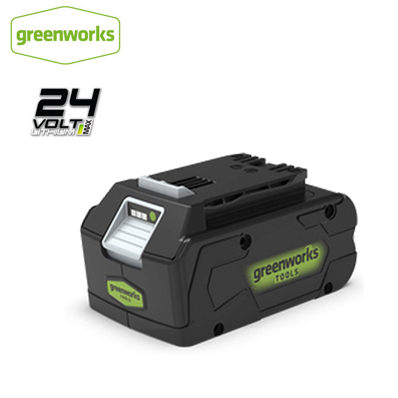 GREEWORKS 1PC 24V 4ah Lithium Ion High Quality ECO Lithium Battery Suitable For Various Products Of GreenworksFree Return|Power Tool Accessories| |  - title=