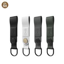 Orijinal Bcase MEC manyetik kulaklık klip deri toka taşınabilir kablo kulaklık tel organizatör tutucu üç renk