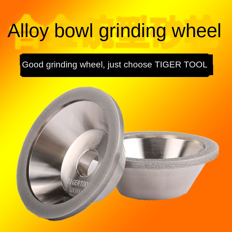 Diamond Bowl Type One Grade Alloy Grinding Wheel Universal Grinder Grinding Tungsten Steel Milling Cutter With Grinding Wheel