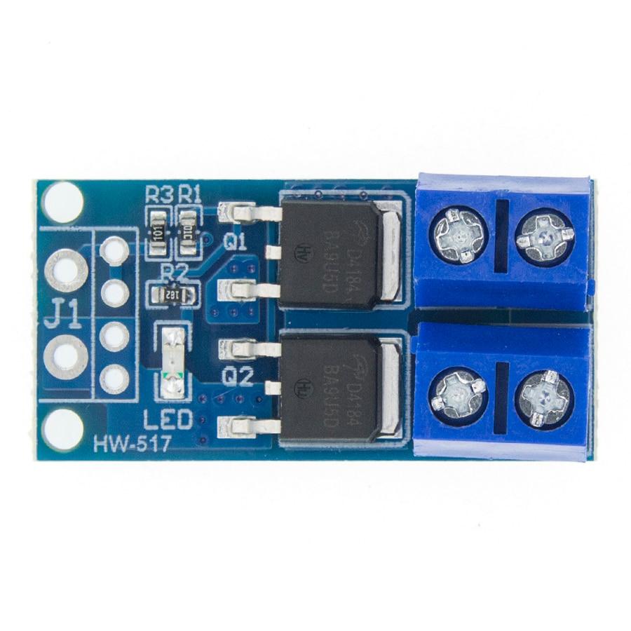 Модуль пускового переключателя MOSFET 15A 400 Вт, модуль управления регулятором PWM