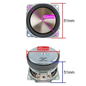 Image 2 - GHXAMP 2 Inch 51mm Speaker 8Ohm 25W Full Range Loudspeaker PP Metal Basin Built in For Full Frequency Audio Waterproof 2pcs