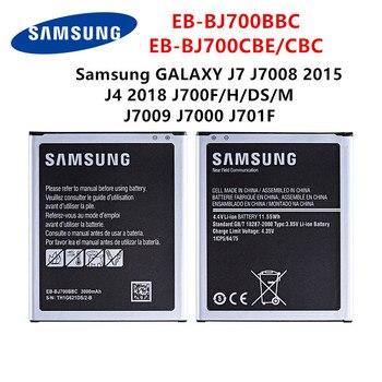 SAMSUNG original EB-BJ700BBC EB-BJ700CBE EB-BJ700CBC 3000mAh batería para Samsung GALAXY J7 J7008 J4 J700F J7009 J7000 J701F NFC