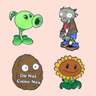 ZF114 Funny Plants G...