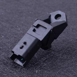 CITALL 3 szpilki czarny z tworzywa sztucznego Turbo czujnik wzrostu ciśnienia 9639469280 1231463 nadające się do Peugeot 1007 206 307 407 1.6 2.0 HDI w Czujnik ciśnienia od Samochody i motocykle na