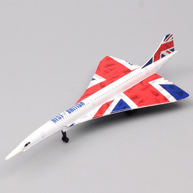 1:325 Scales Corgi GS84006 Aerospatiale BAC Concorde G BOAA British Airways Aircraft Fighter Metal Model Diecasts Vehicle Planes