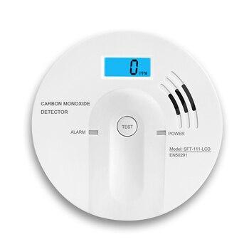 Bayroon Upgrade 7 Yeas Lifetime Guarantee Co Sensor Carbon Monoxide Detector High Sensitive Gas Sensor LCD 85db Warning Alarm