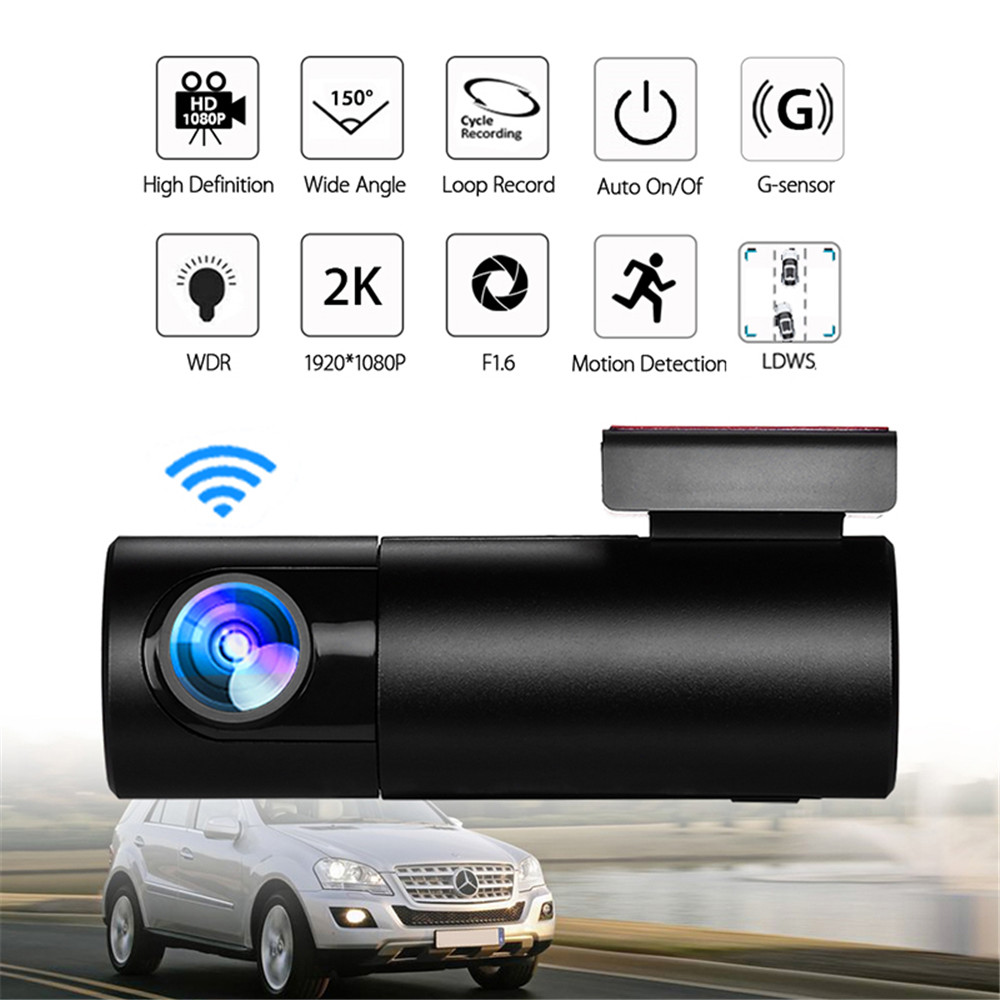 Cloud Storage Car DVR WiFi Dash Camera 1080P Full  HD Sony IMX214 G-Sensor Night Vision Cam Recorder