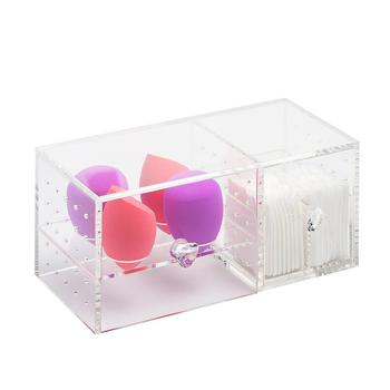 Acrylic Makeup Sponge Holders Puff cotton pad Stand Egg Sponge Drying Holder Makeup organizer Storage Puff Cosmetic Organizer 3