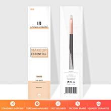 U212 Lip brush for Lipstick gross balm or lip liner  Rose gold ferrule wooden handle Makeup brushes UNIQUE COLORS