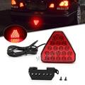 1pc Bremsleuchten Universal F1 Stil 20 LED Rot Hinten Schwanz Dritte Bremse Stop Sicherheit Lampe Licht Auto LED signal Lampe