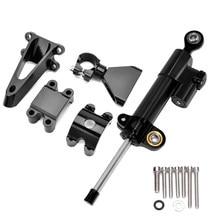 Dla Honda CBR600 F4i CBR 600 1999-2004 2000 2001 2002 CNC aluminium Steering Damper stabilizator z montażu Adapter wspornika zestaw