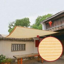 Ekran zasłaniający żagiel przeciwsłoneczny łatwa instalacja HDPE dzianiny oddychająca osłona Patio ochrona przed wiatrem blok UV 0.9x5m strona główna balkon podwórko