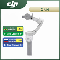DJI Osmo Mobile OM 4 Gimbal Smartphone Stabilisator Selfie Stick Stativ für Telefon Magnetic Design Gesture Control Quick Release